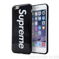 Чехол для iPhone 6/6Plus Supreme Black