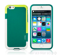 Чехол для iPhone 6/6Plus Color Green