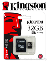 Micro SD Kingston 32GB