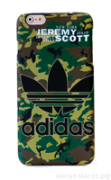 Чехол для iPhone 6/6Plus Supreme Adidas