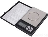 Мини весы DIGITAL SCALE NOTEBOOK Series-1108-2 0,01х2000g