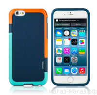 Чехол для iPhone 6/6Plus Color Blue