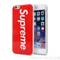 Чехол для iPhone 6/6Plus Supreme Red