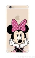 Чехол для iPhone 6/6Plus Minnie Mouse