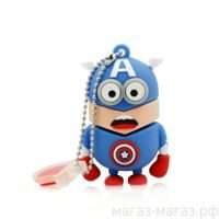 "USB-флешка ""Minion Captain America"" 2Gb"