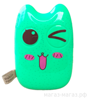 "Внешний аккумулятор Totoro power bank 20000mah green-pink (м/ф ""Мой сосед Тоторо"")"